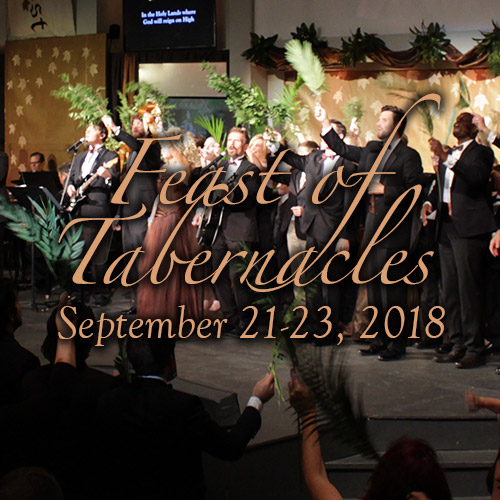 Feast of Tabernacles 2018 Registration