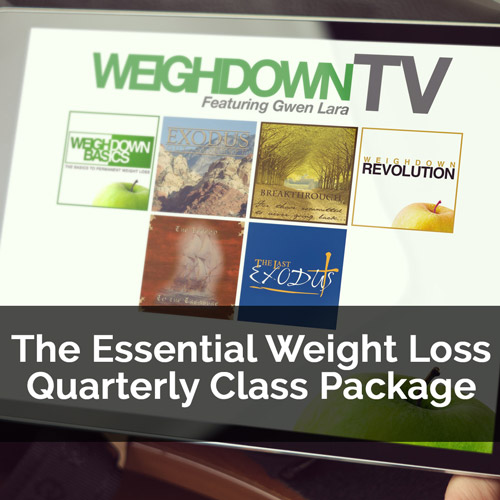 The Essential Weight Loss Quarterly Class Package