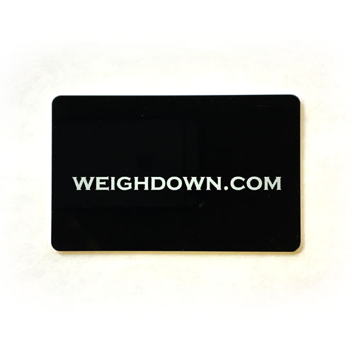 Weigh Down Gift Card