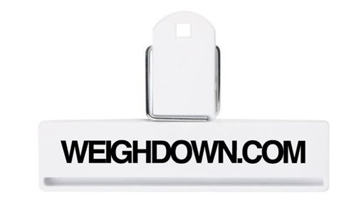 Weigh Down Chip Clip