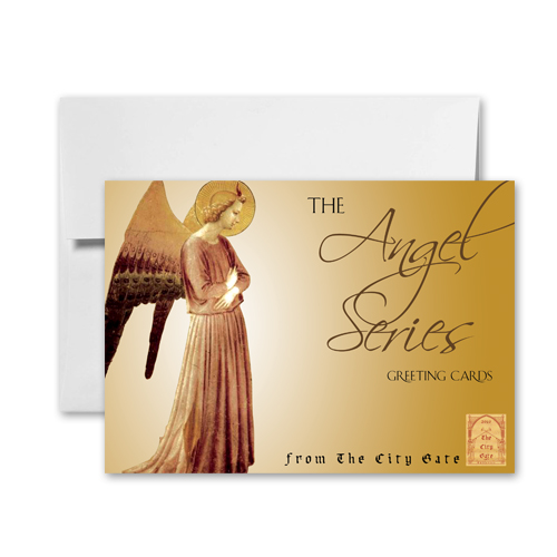 The City Gate Greeting Cards: Angel Series
