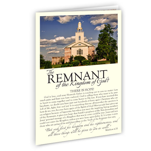 Remnant Fellowship Flyer