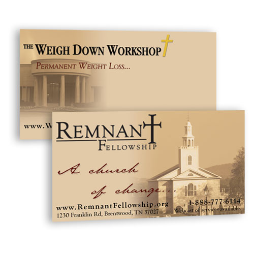 Standard Evangelism Business Cards