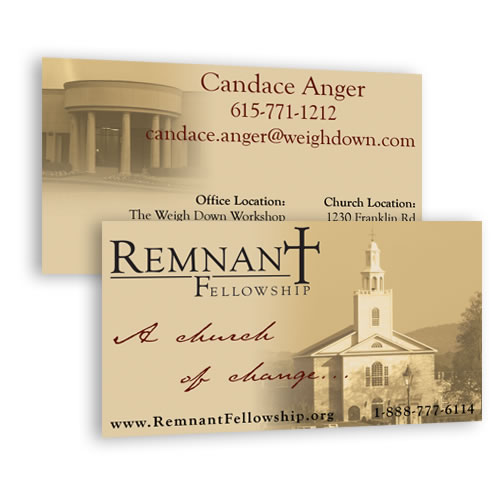 Personalized Evangelism Business Cards