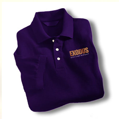 WDW Golf Shirt - Purple