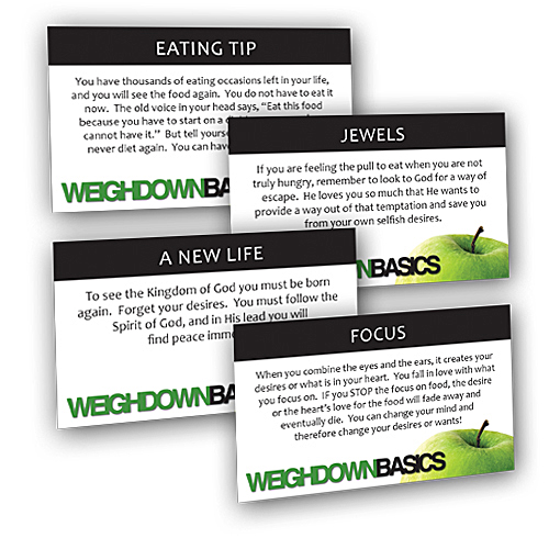 Weigh Down Basics Truth Cards