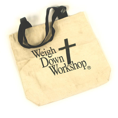 WDW Tote Bag- white (canvas)