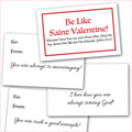 "Remnant ""Be Like Valentine"" Cards - 64 Mini"