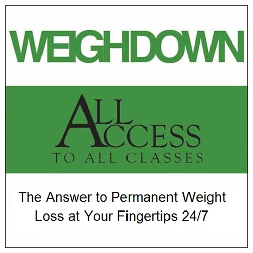 how to cancel weigh down all access