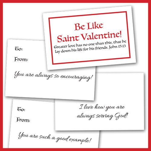 "Remnant ""Be Like Valentine"" Cards"