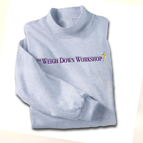WDW Sweatshirt - grey with purple