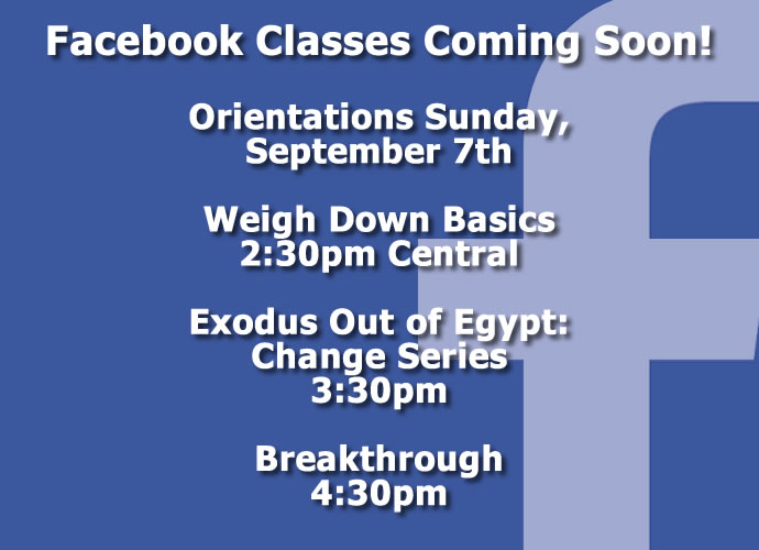 Sign up for a class today!